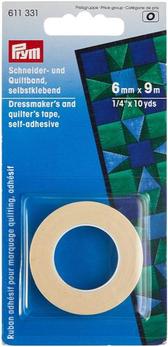 Prym 6 mm x 9 m Dressmakers and Quilters Tape
